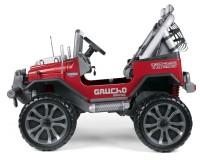 Двухместный детский электромобиль Peg-Perego Gaucho Grande Красный