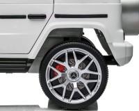 Двухместный детский электромобиль Kidsauto Mercedes-Benz G63 AMG 4WD Белый