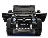 Детский электромобиль Kidsauto Mercedes-Benz G63 AMG 6WD с задним родительским сидением Черный
