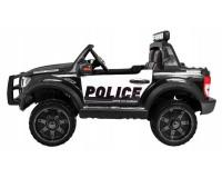Детский электромобиль Kidsauto Ford Ranger Raptor Police с мигалками Черный