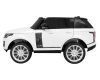 Двухместный детский электромобиль Kidsauto Range Rover 4WD с МР4 планшетом Белый