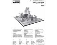 Сборная модель MiniArt Диорама Польша, 1944 1:35 (MA36004)