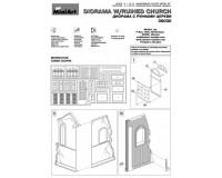 Сборная модель MiniArt Диорама с руинами церкви 1:35 (MA36030)