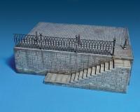 Сборная модель MiniArt Диорама Фрагмент речной набережной 1:35 (MA36044)