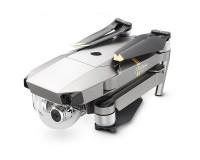 Квадрокоптер DJI Mavic Pro Platinum Fly More Combo (+2 батареи, рюкзак, авто ЗУ, доп. пропеллеры)