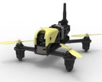 Квадрокоптер Hubsan H122D X4 Storm Advanced FPV RTF с монитором и шлемом для гонок (H122D Advanced)
