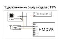 Видеорегистратор FPV Eachine ProDVR для аналогового сигнала