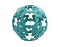 Эко-конструктор Binabo, 36 деталей, синий (221860_blue)