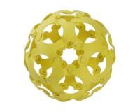 Эко-конструктор Binabo, 36 деталей, желтый (221860_yellow)