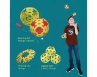 Эко-конструктор Binabo, 60 деталей, разноцветный (231860)