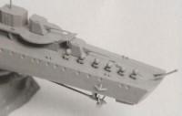 Сборная модель Звезда немецкий эскадренный миноносец Z-17 «Дитер фон Рёдер» 1:350