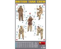 Сборные фигурки MiniArt Британский танковый экипаж в зимней униформе 1:35 (MA35121)