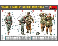 Сборные фигурки MiniArt Операция Market Garden Голландия 1944 г. 1:35 (MA35148)
