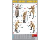 Сборные фигурки MiniArt Водители-красноармейцы 1:35 (MA35144)
