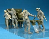 Сборные фигурки MiniArt Советский артиллерийский расчет на маневре 1:35 (MA35081)