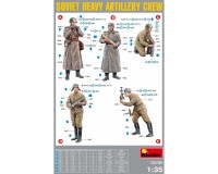 Сборные фигурки MiniArt Советские артиллеристы, специальное издание 1:35 (MA35185)