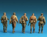 Сборные фигурки MiniArt Советская пехота, специальное издание 1:35 (MA35108)