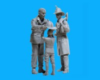 Сборные фигурки ICM Американские пожарные, 1910-е гг. 1:24 (ICM24005)
