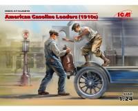 Сборные фигурки ICM Американские грузчики бензина, 1910-е гг. 1:24 (ICM24018)