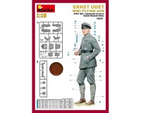 Сборная модель MiniArt фигурки немецкого летчика-аса Эрнста Удета 1:16 (MA16030)