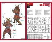 Сборная модель MiniArt фигурки самурая 1:16 (MA16028)