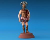 Сборная модель MiniArt фигурки спартанского гоплита V века до н. э. 1:16 (MA16012)