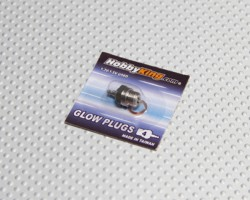 Свеча HobbyKing Glow Plug No.4 (MEDIUM HOT)