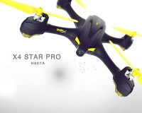 Квадрокоптер Hubsan X4 Star Pro Plus WiFi FPV HD GPS