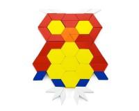 Деревянный игровой набор Viga Toys Цветная мозаика, 250 элементов (50065)