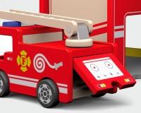 Деревянный игровой набор Viga Toys Пожарная станция (50828)