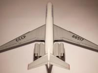 Сборная модель Звезда советский пассажирский авиалайнер «Ил-62М» 1:144