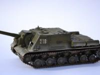 Сборная модель Звезда советский истребитель танков «ИСУ-122» 1:35