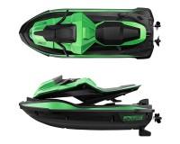 Водный мотоцикл JJRC S9 (зеленый) c 2мя аккумуляторами