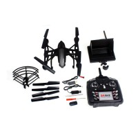 Квадрокоптер JXD 509G 316мм FPV монитор 4.3 черный