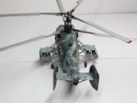 Сборная модель Звезда российский вертолёт огневой поддержки морской пехоты «Ка-29» 1:72