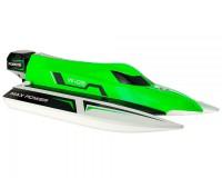 Катер WL Toys WL915 F1 High Speed Boat бесколлекторный (зеленый)