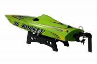 Катер Joysway Rocket 610мм Brushed зеленый PNP