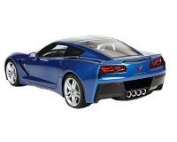 Коллекционный автомобиль Maisto Corvette Stingray 2014 1:18, синий