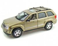 Коллекционный автомобиль Maisto Jeep Grand Cherokee 1:18, светлый хакки