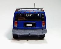 Коллекционный автомобиль Maisto Hummer H2 SUV 2003 синий