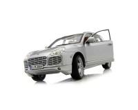 Коллекционный автомобиль Maisto Porsche Cayenne (серый металлик)