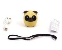 Колонка детская Click Децибелка портативная 3Вт Собака