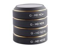 Комплект фильтров PGYTECH (G-ND4, ND8, ND16, ND32) для камеры квадрокоптера DJI Mavic Pro