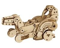 Конструктор деревянный Mr.Playwood Трансформер Динокар (PW10016)