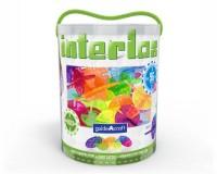 Конструктор Guidecraft Interlox Discs Диски, 96 деталей (G16834)