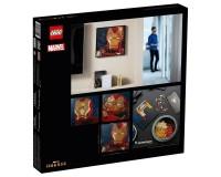 Конструктор LEGO Art Железный человек Marvel Studio, 3156 элементов (31199)