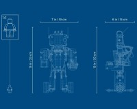Конструктор LEGO MINDSTORMS Робот-изобретатель, 949 деталей (51515)