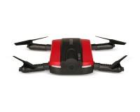 Квадрокоптер JXD 523 210мм складной WiFi камера барометр красный