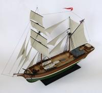 Сборная модель Звезда судно «Бригантина» 1/100 (подарочный набор)