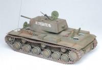 Сборная модель Звезда советский тяжёлый танк 1940 г. с пушкой Л-11 «КВ-1» 1:35
